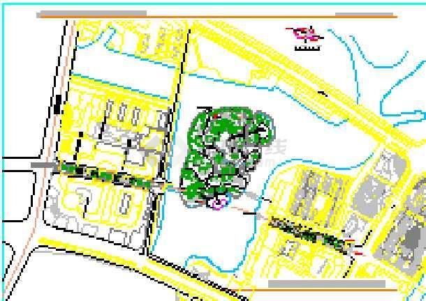 [浙江]商业步行街环境景观设计方案(包含CAD和详细设计说明)-图二