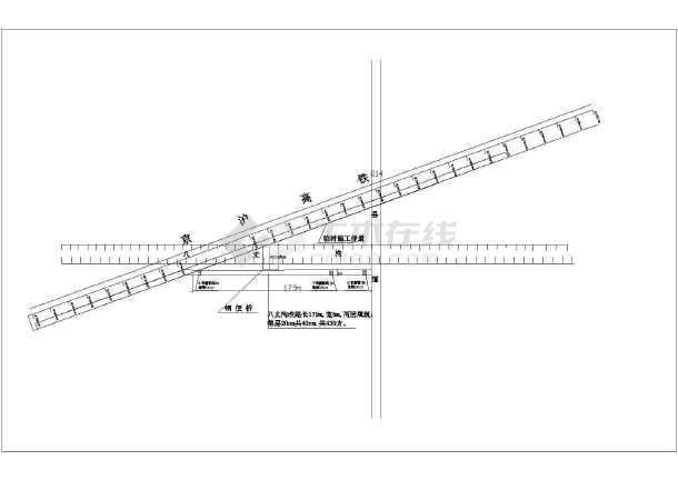 高速铁路特大桥CRTSⅡ型板式无砟轨道及底座板施工方案附CAD-图二