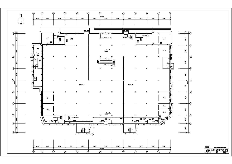 石家庄百货商场集中空调系统毕业设计图片2