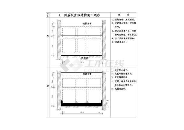 点击查看[广东]地铁站土建工程施工组织设计222页(附92张CAD)第2张大图