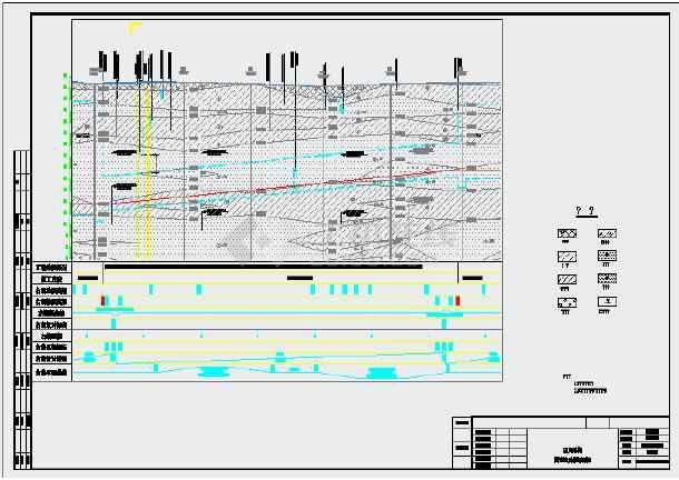 [北京]创长城杯地铁岛式明挖车站及盾构区间土建施工组织设计343页附CAD图25张-图一