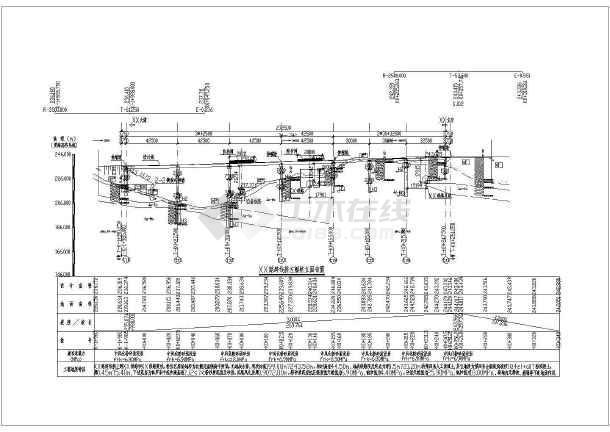 [重庆]城市主干路实施性施工组织设计109页(含桥梁附CAD图)-图二