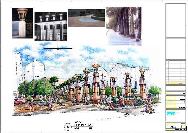 点击查看[广东]小区景观设计方案及CAD扩初设计第1张大图