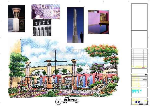 点击查看[广东]小区景观设计方案及CAD扩初设计第2张大图