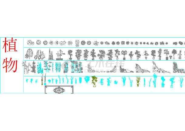 点击查看家装室内设计CAD图标模块第2张大图
