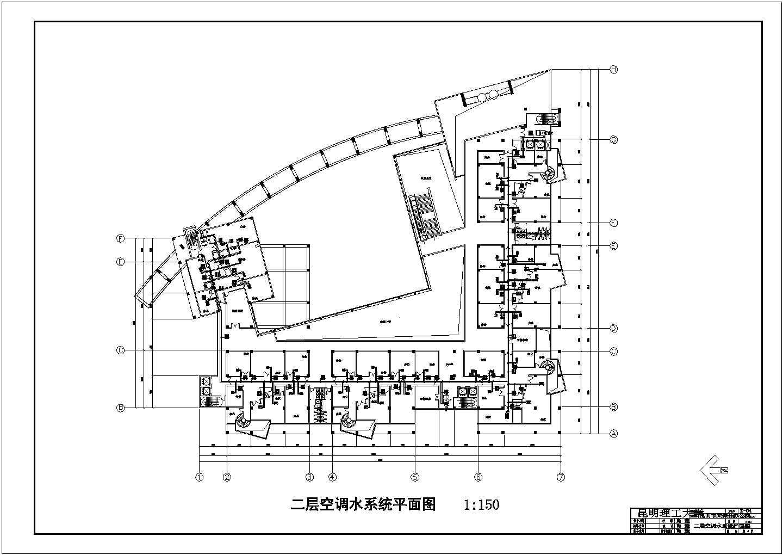 昆明市某五层综合办公楼空调系统毕业设计图片3