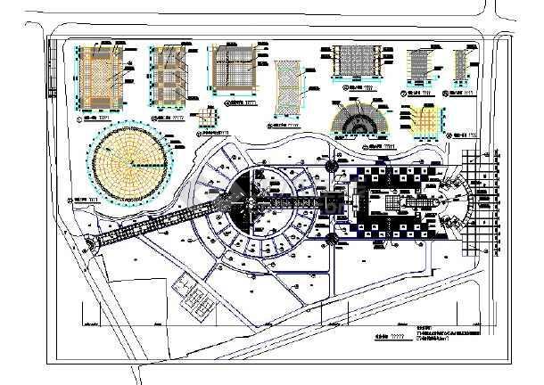 公园规划设计CAD图(20个CAD文件)-图二