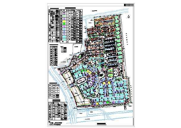 某地别墅区规划设计CAD图纸-图一