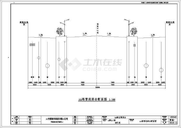 市政道路雨水系统施工图设计-图二