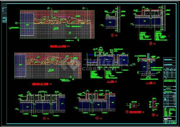 点击查看顺德市文化建筑馆周边景观设计CAD图纸第1张大图