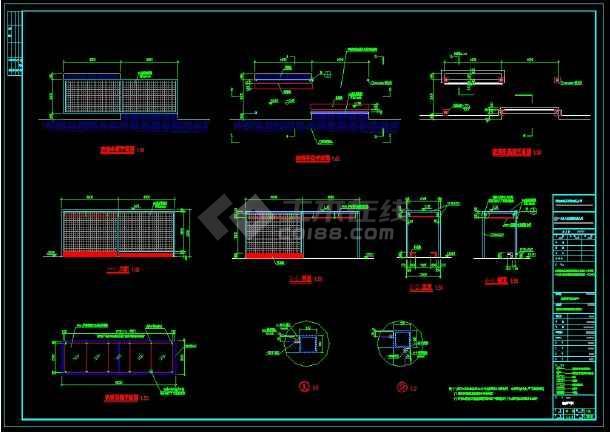 点击查看顺德市文化建筑馆周边景观设计CAD图纸第2张大图