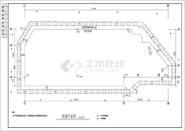 点击查看某公寓地基基础基坑施工节点构造详图第2张大图