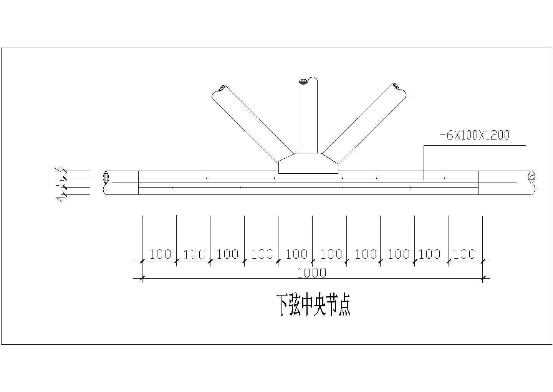 [节点详图]某木屋架的节点构造详图图片1