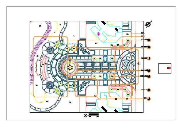 点击查看[东莞]居住区园林景观工程总图设计第1张大图