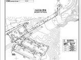 某矿山生活区热力管道工程施工平面图图片1