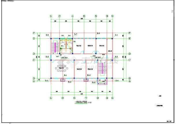 点击查看西院老年公寓施工图给排水第2张大图