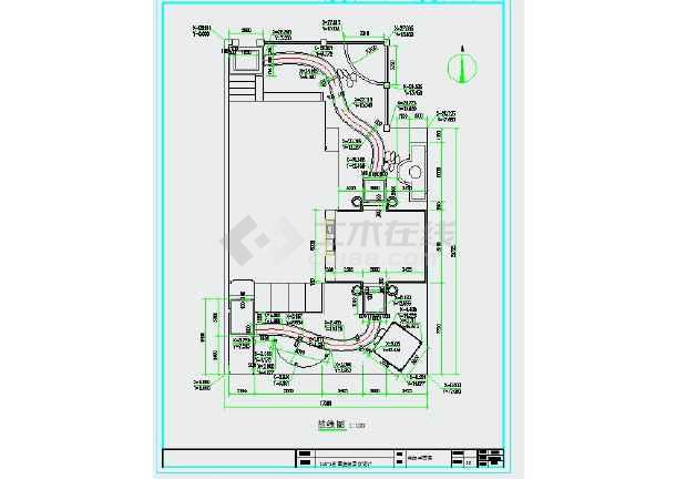 点击查看别墅庭院景观设计全套施工图第1张大图