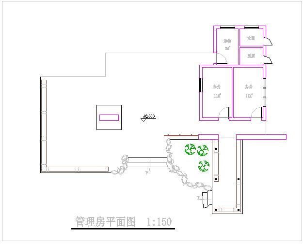 [杭州]某滨水河道局部园林工程施工图图片1