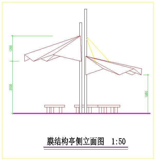 [杭州]某滨水河道局部园林工程施工图图片3