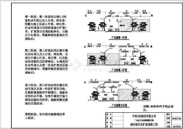 广州市市政道路交通疏解方案-图二