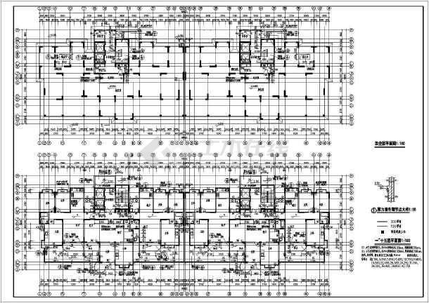 点击查看南方某地高层住宅建筑施工图全套第1张大图
