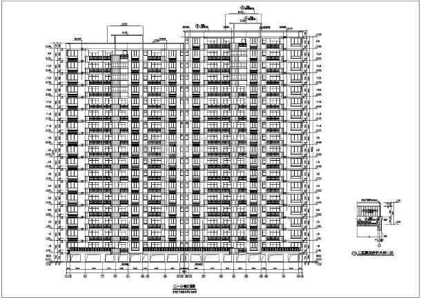 点击查看南方某地高层住宅建筑施工图全套第2张大图