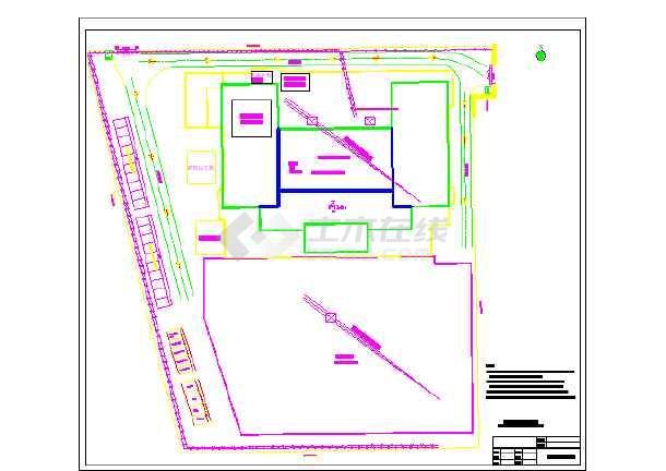 [广西]框剪结构高层商务楼幕墙施工组织设计-图二