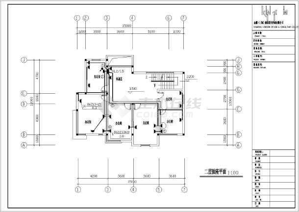 物管用房电气施工cad图,含电气设计总说明-图一