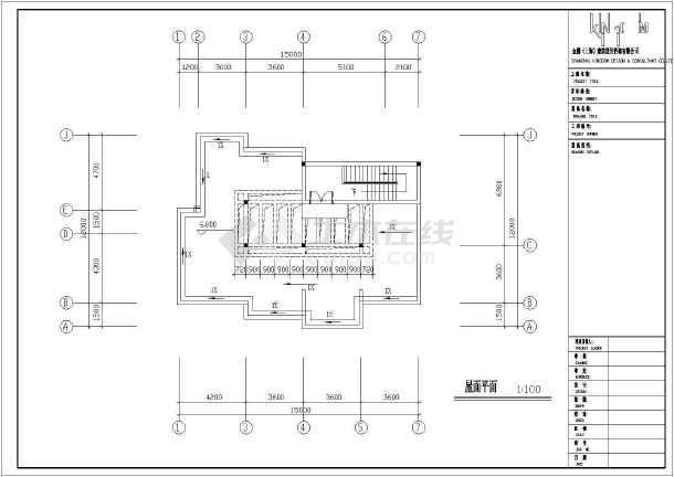 物管用房电气施工cad图,含电气设计总说明-图二