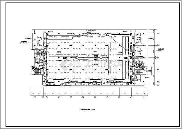 点击查看某住宅小区消防系统设计cad图,含消防设计说明第2张大图