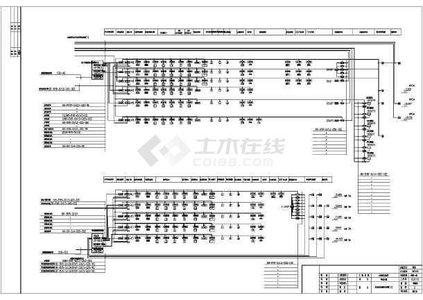 明珠商务港弱电系统图及设计说明-图二