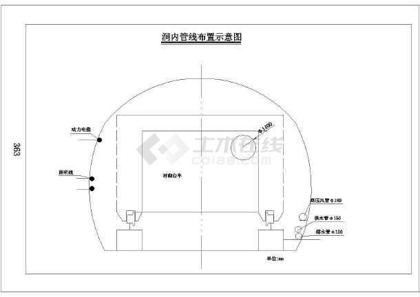 [福建]多段隧道施工方案(含16张CAD)-图一