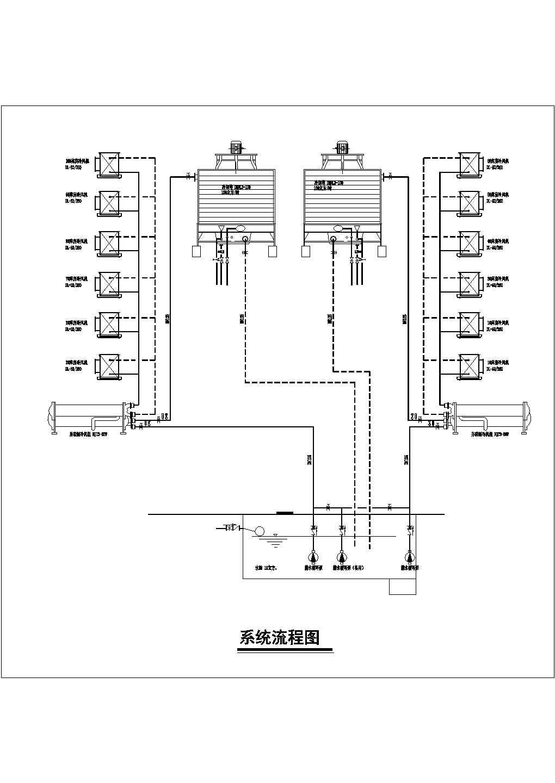 山东某果品冷库制冷系统设计cad图图片1