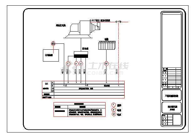 点击查看花园住宅联网智能化系统结构设计图第2张大图