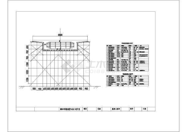 点击查看现浇箱梁满堂支架法施工方案(含检算单CAD图)第2张大图