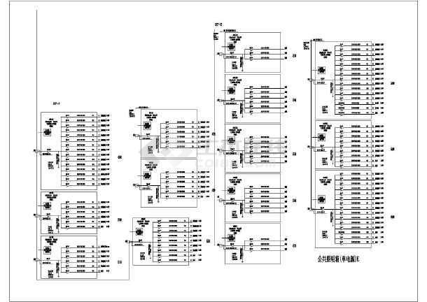 单电源、动力、空调电源电气系统图-图二