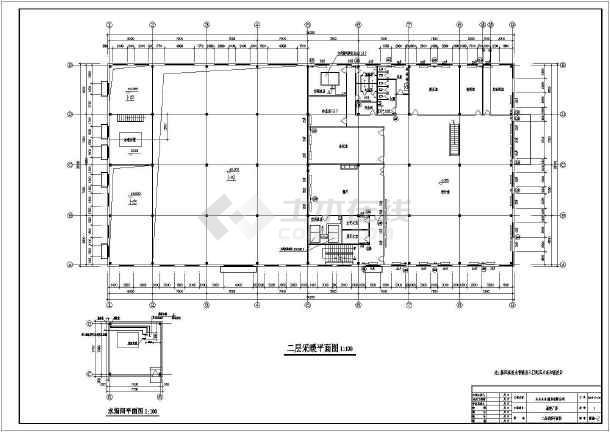 点击查看某二层模具厂房暖通设计第1张大图