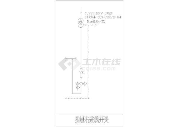 点击查看电气一次原理及一次常用符号CAD图块第2张大图