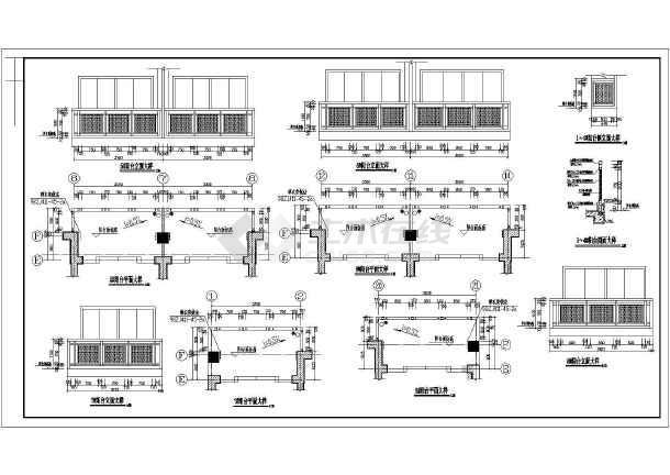 多层框架结构住宅楼建筑图纸(含5套图纸)-图二
