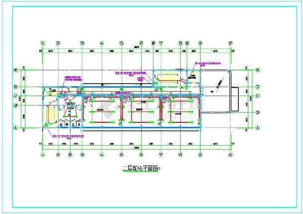 东台社区文化服务中心--电气-图二