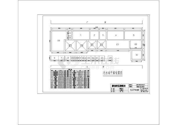 点击查看广东某线路板厂生产废水处理工艺流程图第1张大图