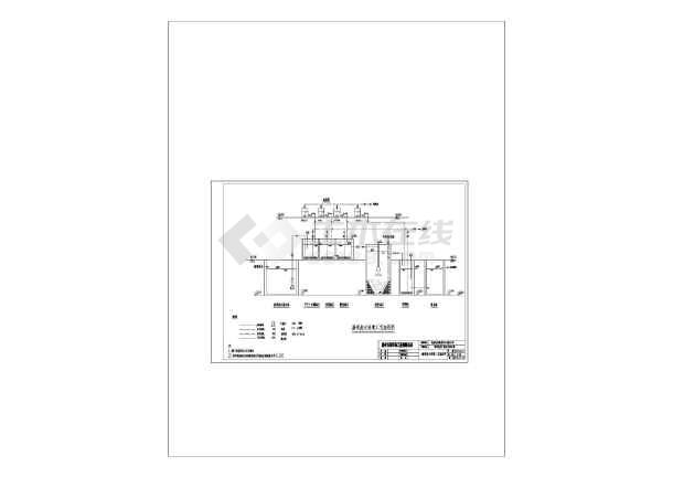 点击查看广东某线路板厂生产废水处理工艺流程图第2张大图