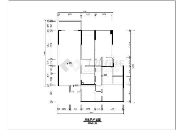 商品房室内装修施工方案图-图一