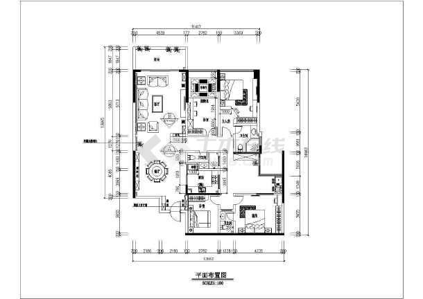 商品房室内装修施工方案图-图二