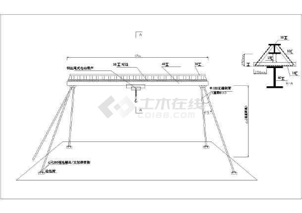 [陕西]市政道路污水顶管专项施工方案(附CAD图)-图二