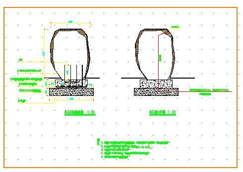 某小区给排水设计cad详图图片1