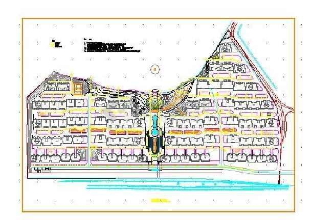 点击查看某小区给排水设计cad详图第2张大图