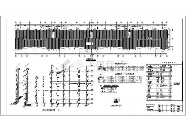 点击查看多层建筑给排水设计cad图,含设计说明第2张大图