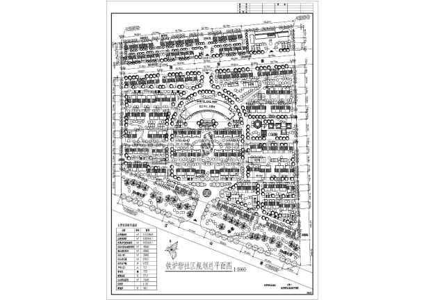 某居民社区景观规划设计总图,共6张-图二