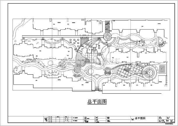 某居民小区竣工图(含施工设计说明,共33张图)-图一
